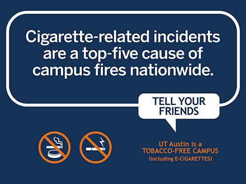Smoking causes fires